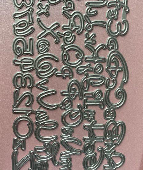 troquel abecedario Disney