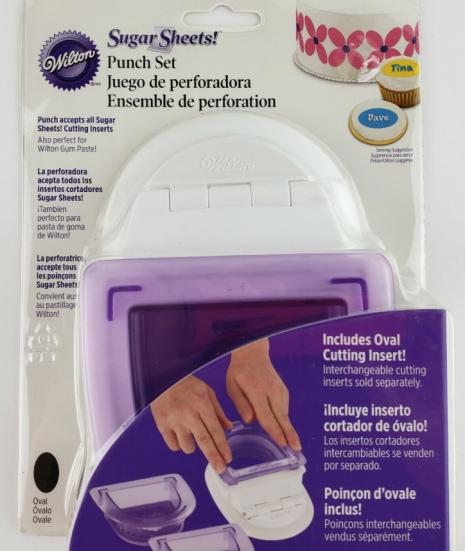 perforadora para pasta de goma