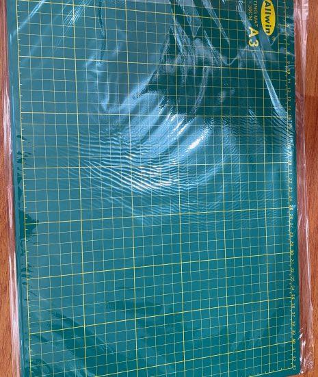 tapete verde para manualidades
